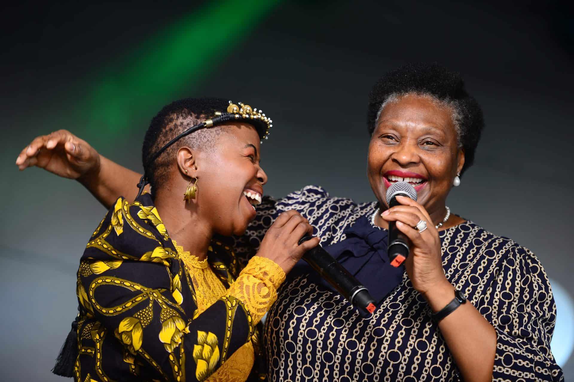 AMPD Yvonne Chaka Chaka & Zolani Mahola